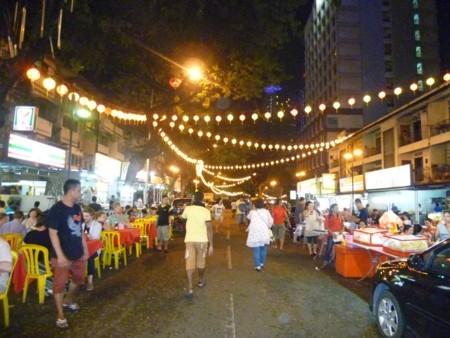 マレーシア:アロー通り 屋台街 (12).JPG