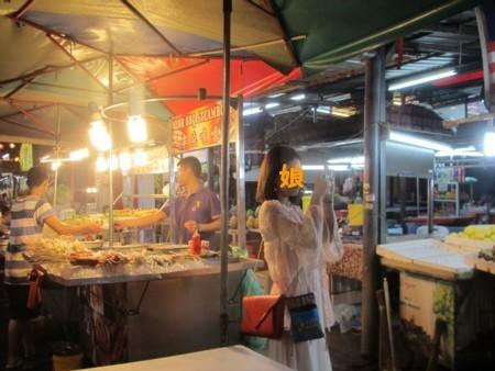 マレーシア:アロー通り 屋台街 (5).JPG
